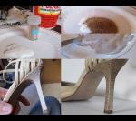 Блестящая реинкарнация. Сколько же туфель не дождалось своего звездного часа и было выброшено после прогулок по брусчатке.