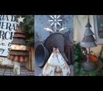 Если вы счастливый обладатель сарая, набитого металлоломом, то вам легко сделать такой арт объект.