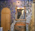 Ванная комната лесной феи