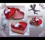 Декор подарков ко Дню Святого Валентина